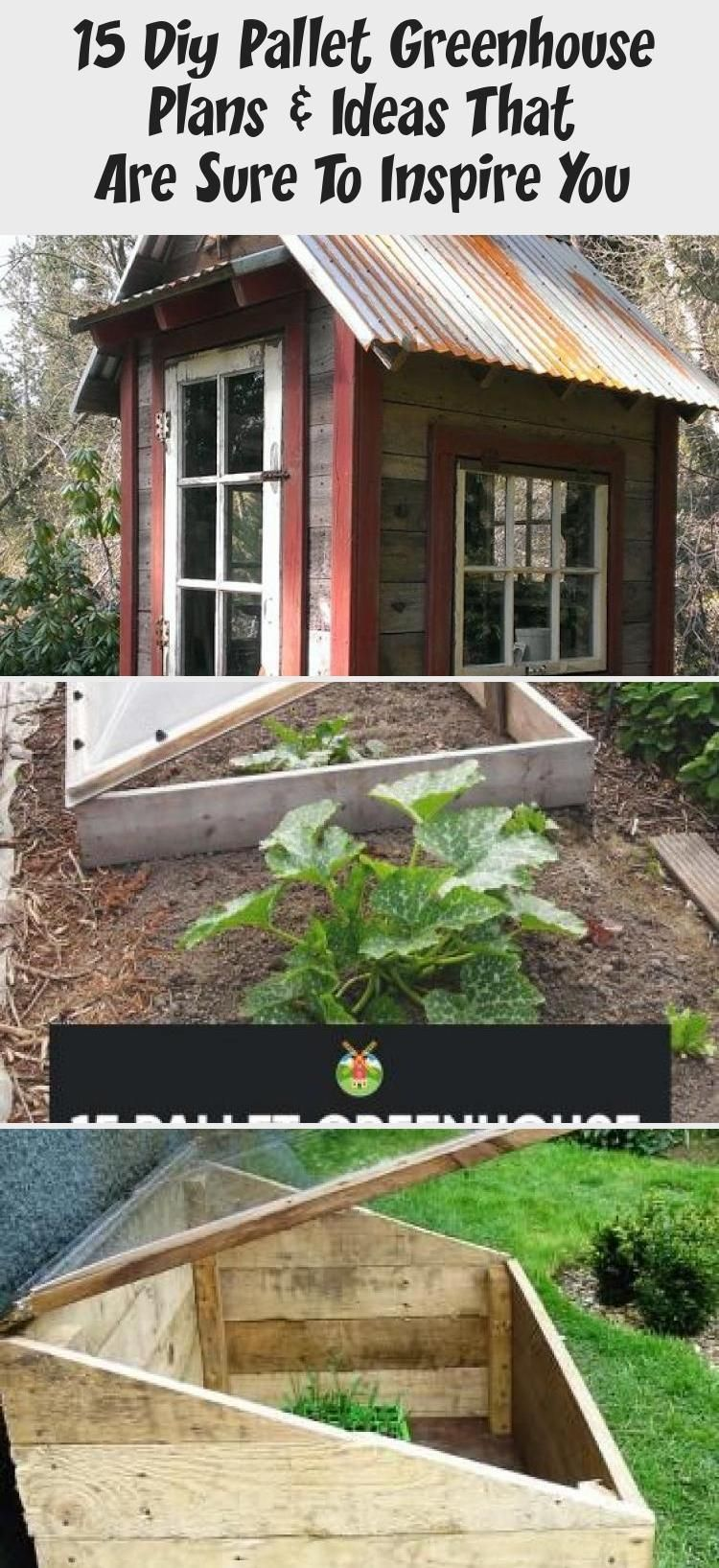 15 Diy Pallet Greenhouse Plans & Ideas That Are Sure To