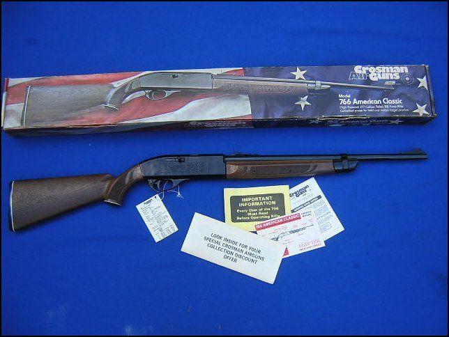 Crosman 766 American Classic Air Rifle: I received one of