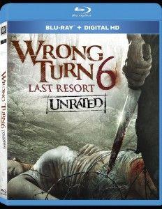 Wrong Turn 6 Last Resort Blu Ray Dvd Dread Central Wrong Turn Turn Ons Resort 2014