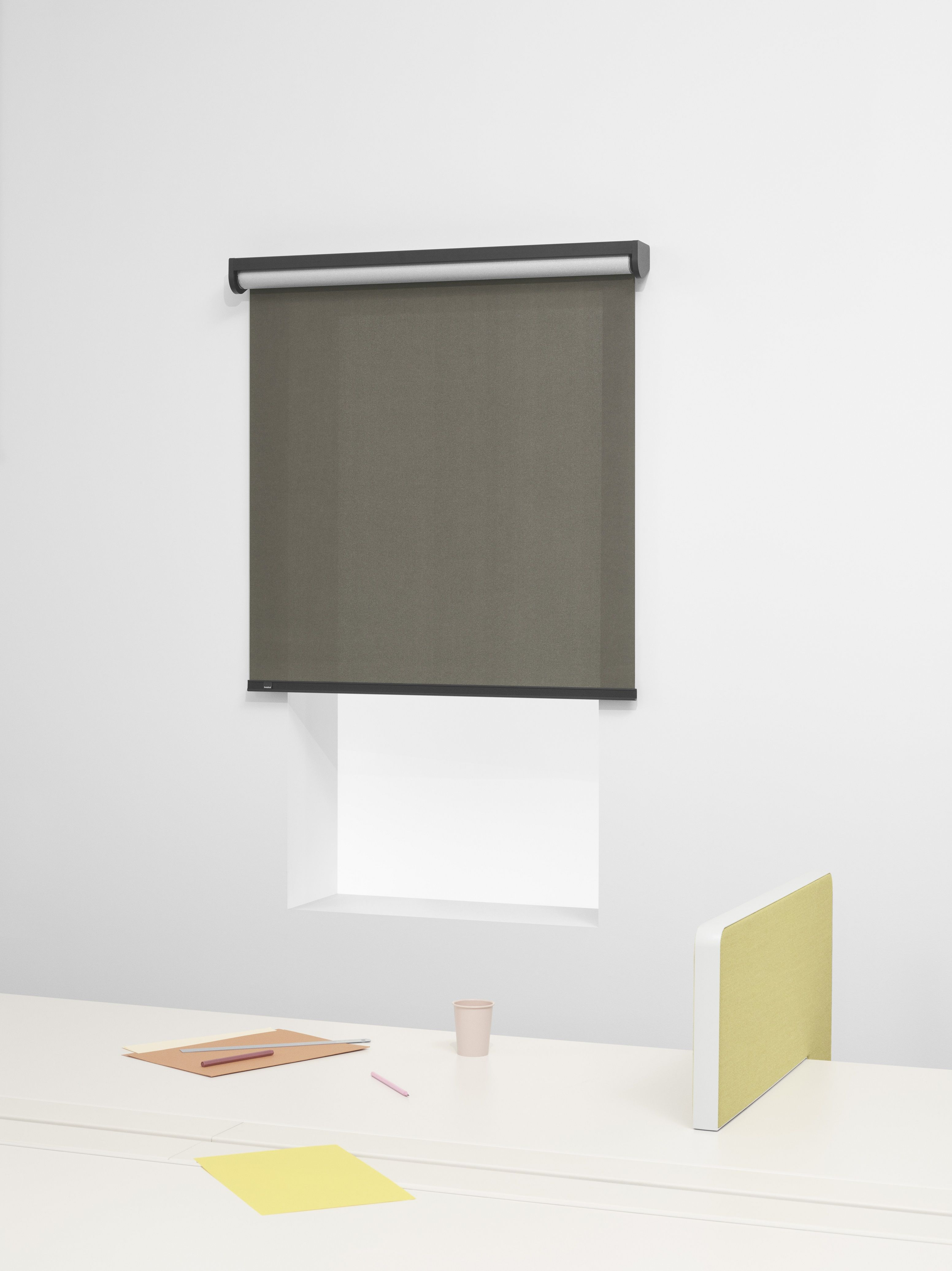 French Designers Ronan U0026 Erwan Bouroullec Have Put Their Spin On The Humble  Roller Blind Using Textiles The Duo Created For Danish Brand Kvadrat.