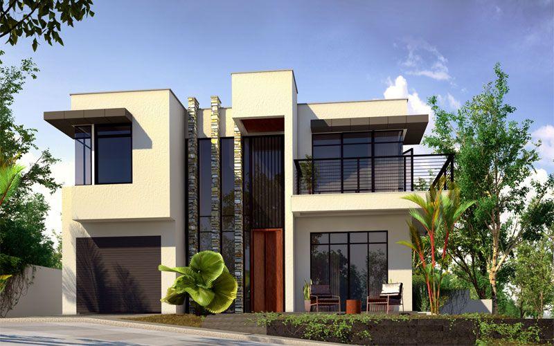 This modern house design defines the demand of modern architecture - moderne huser 2015