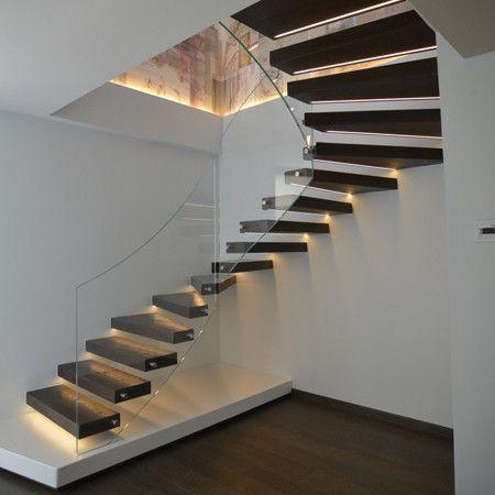 Risultati immagini per rivestimento scala interna house - Scala interna design ...