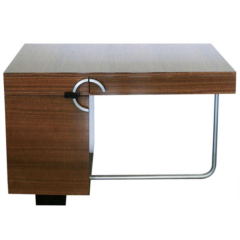 Charmant Rare Modernist Art Deco Desk By Gilbert Rohde For Herman Miller
