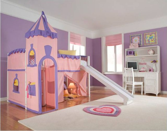 15 cool castle beds for little princess | decorative bedroom