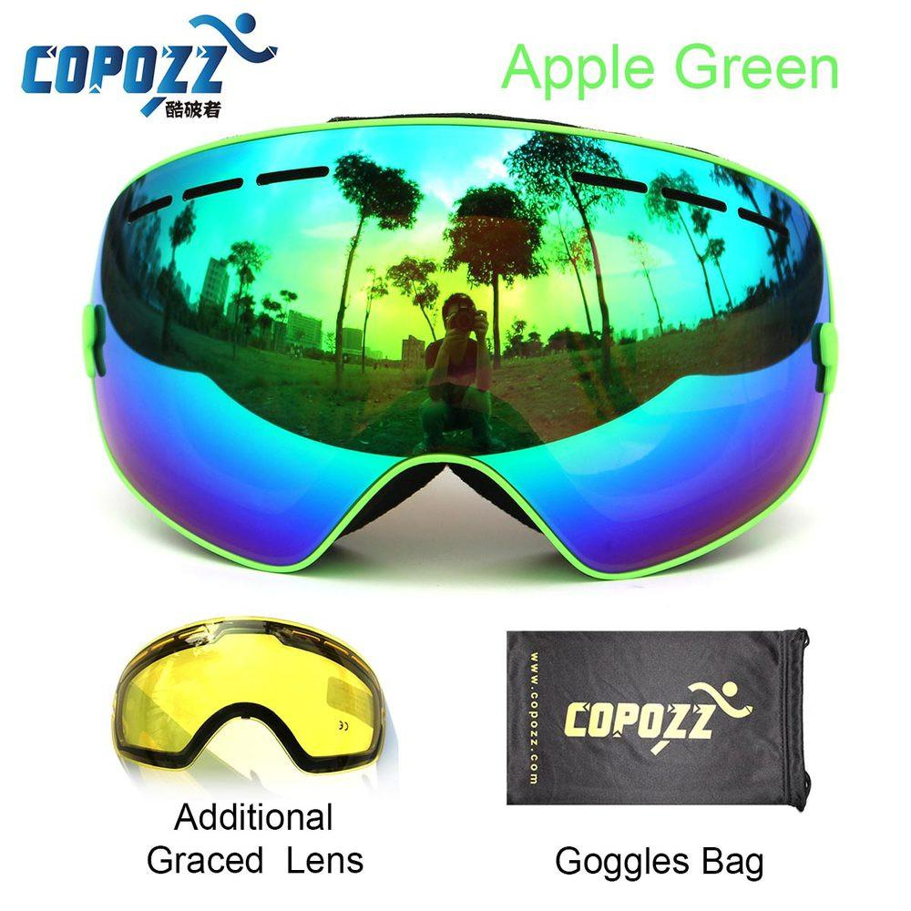 1c6d2bf5917 Ski goggles 2 double lens UV400 anti-fog large snowboard goggles GOG-201+
