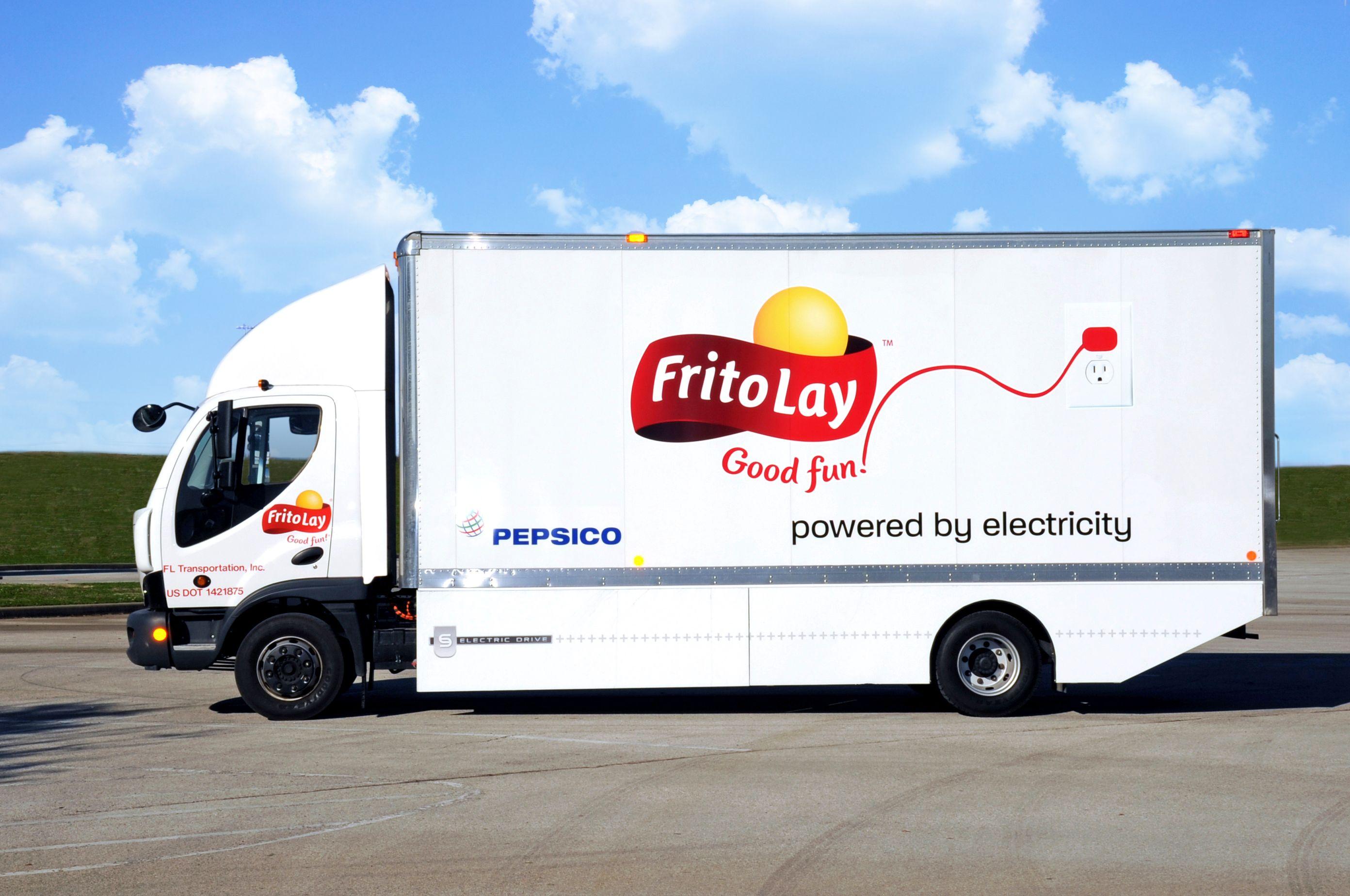 Electric Truck Cars Trucks Pinterest Frito Lay