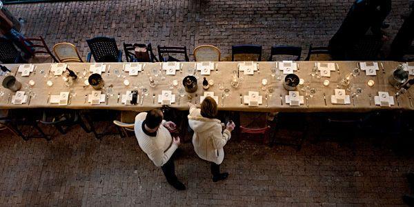 Table & Chairs. Dai Due Supper Club