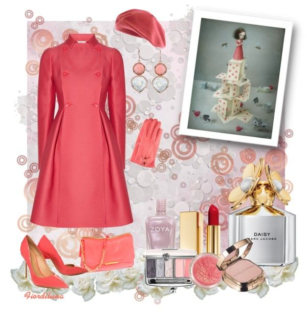"""""""The Colors: Tea Rose"""" by fiordiluna on Polyvore"""
