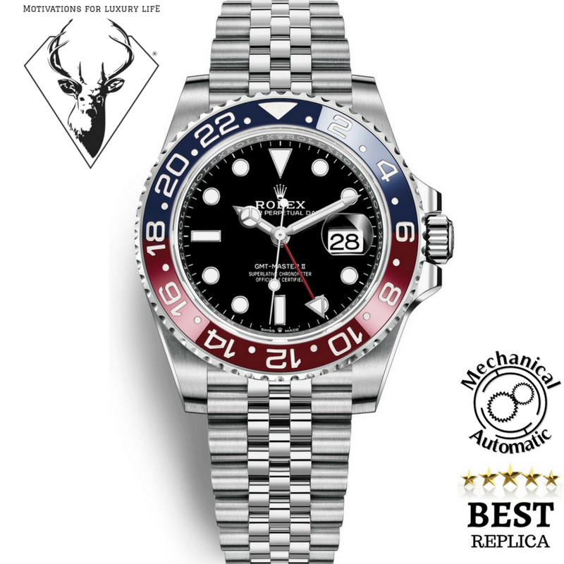 2018 Rolex Gmt Master Ii Pepsi Mechanical Automatic 150 Rolex Gmt Master Ii Rolex Gmt Master Rolex Watches For Men
