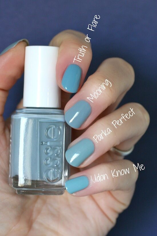 Mooning VS Udon know me - Essie Wild Nude Collection : Swatches ...