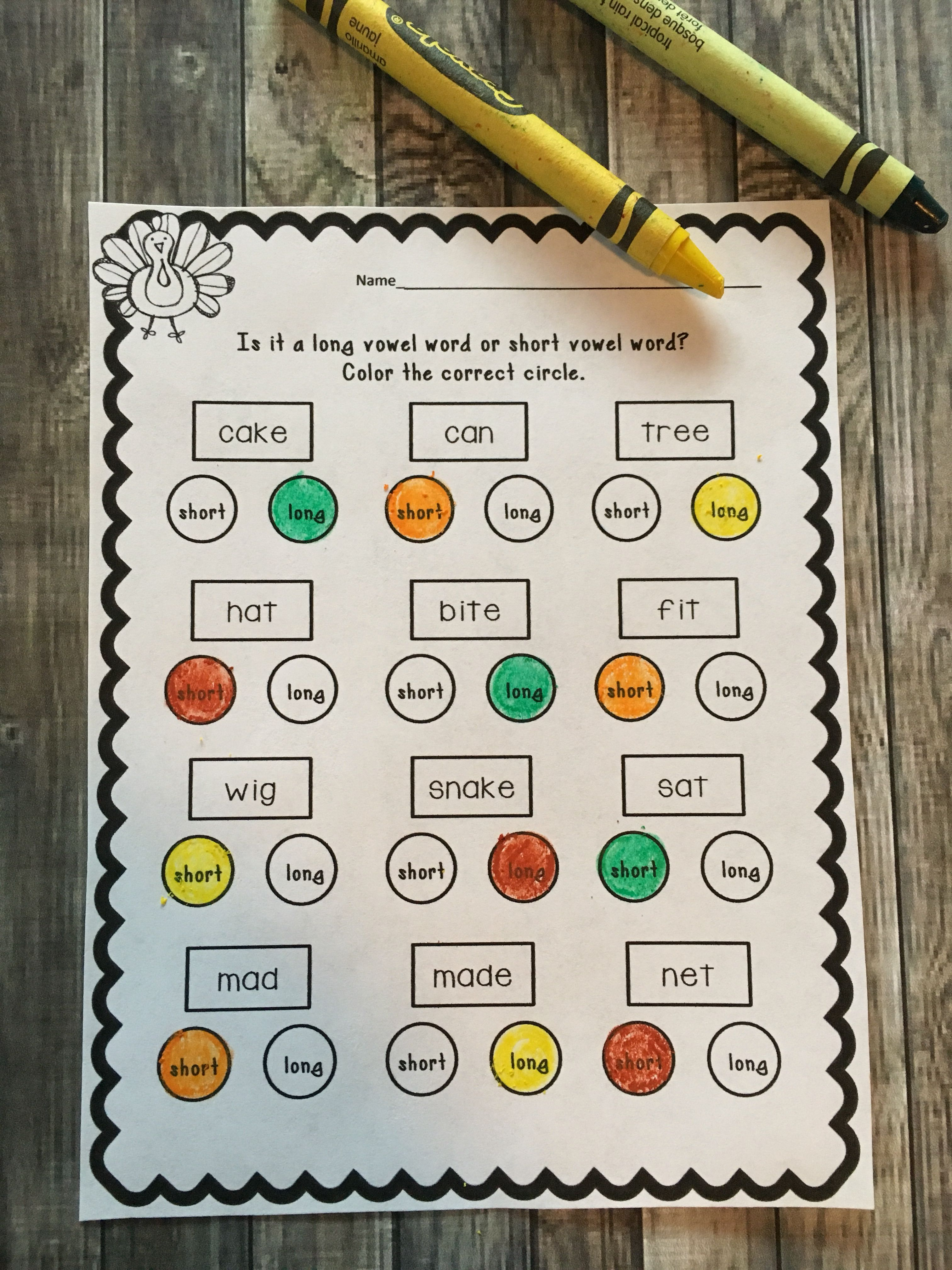 Print And Learn Literacy And Math Worksheets November