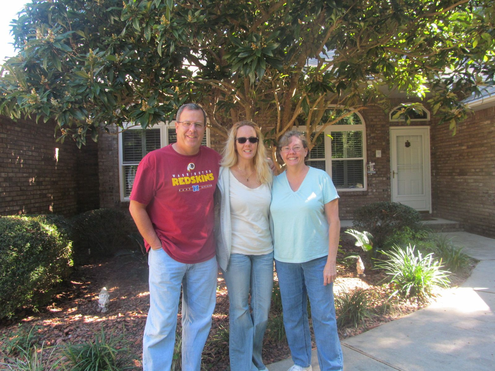 Uncle Charley, Me and Aunt Jean in Navarre