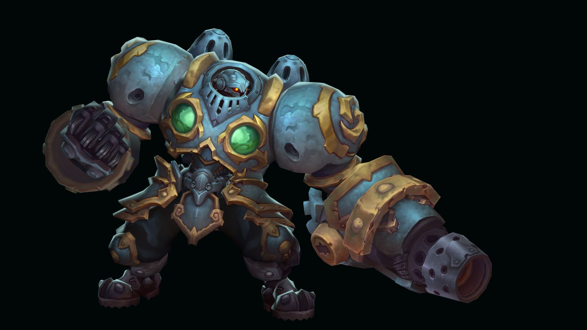 July Update | 3D Characters | Battle chasers, Robots