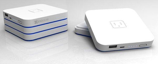 Exogear's Exovolt Plus 'stackable' battery pack
