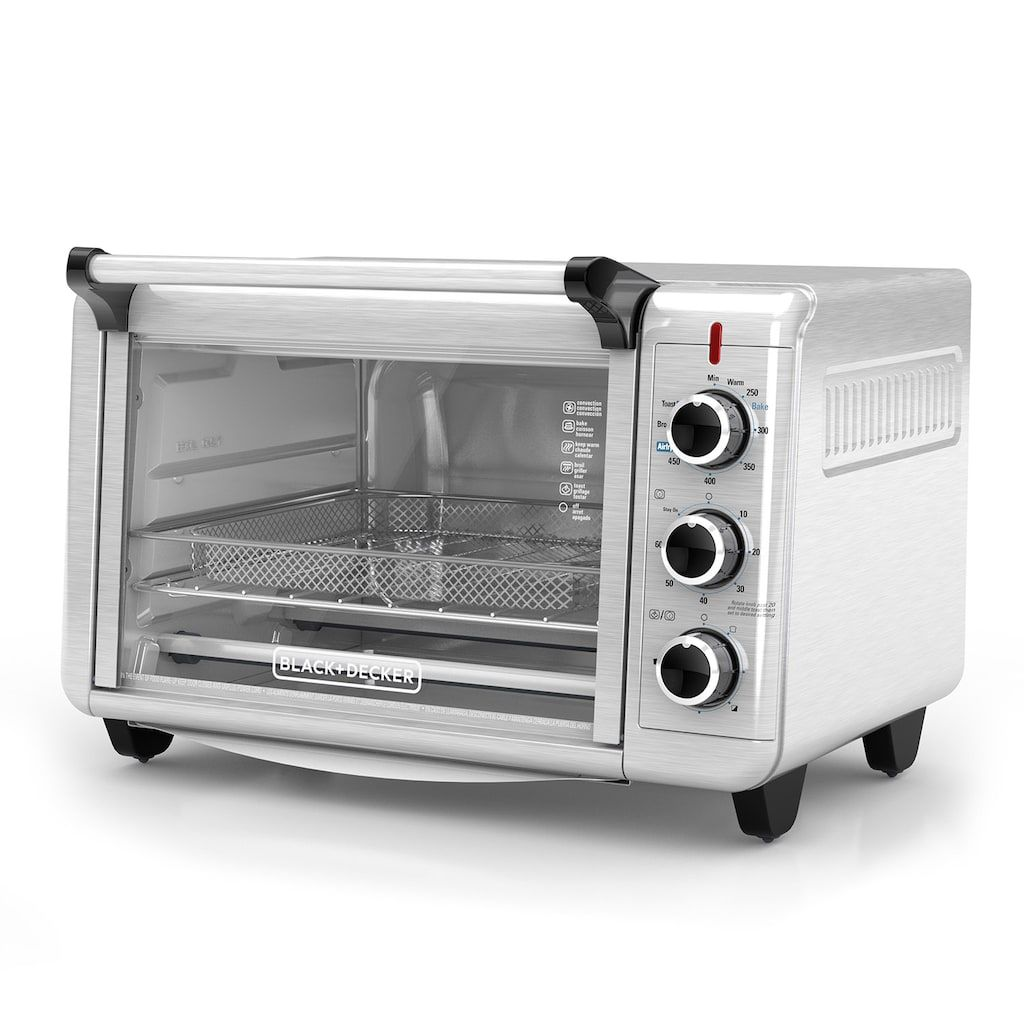 Black Decker Crisp N Bake Convection Air Fry Countertop Oven