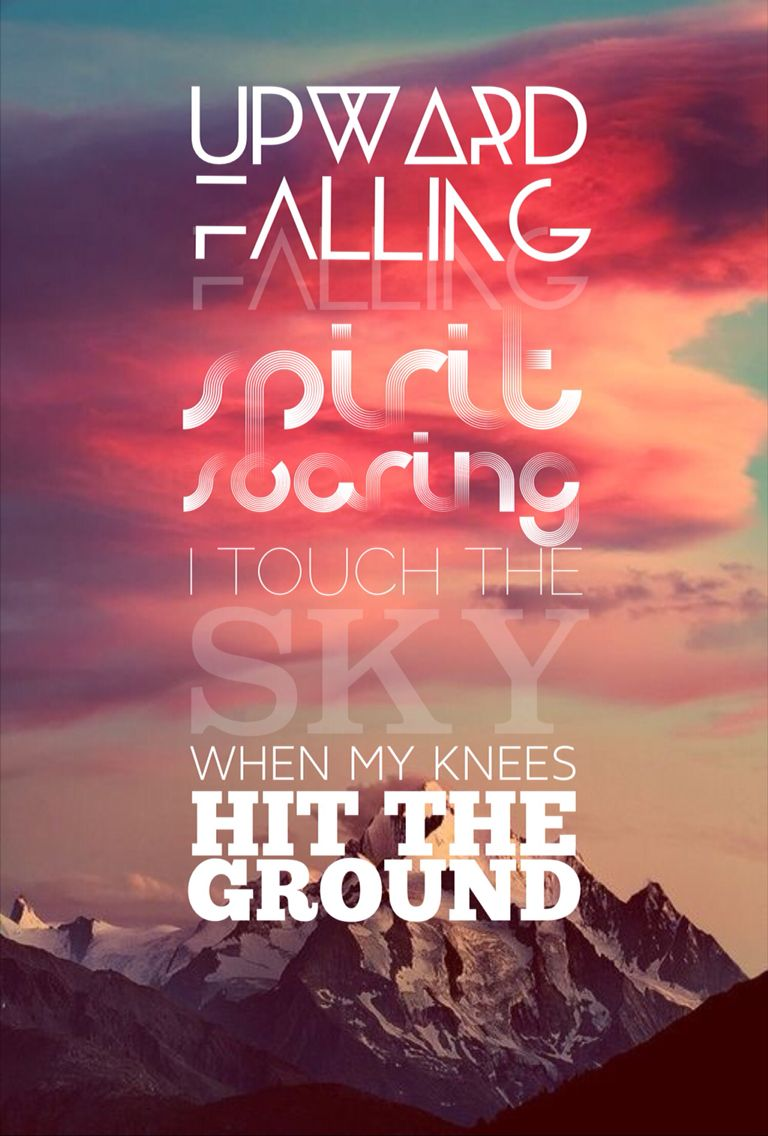 I Touch The Sky When My Knees Hit The Ground Christian Lyrics