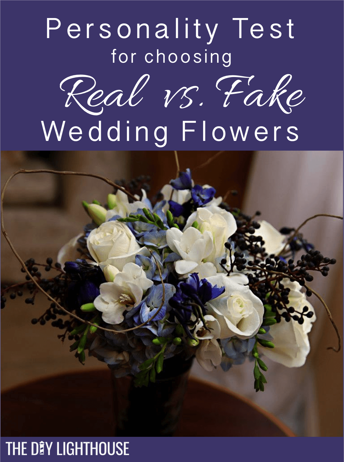 Real vs Fake Wedding Flowers pinterest in 2020 Fake