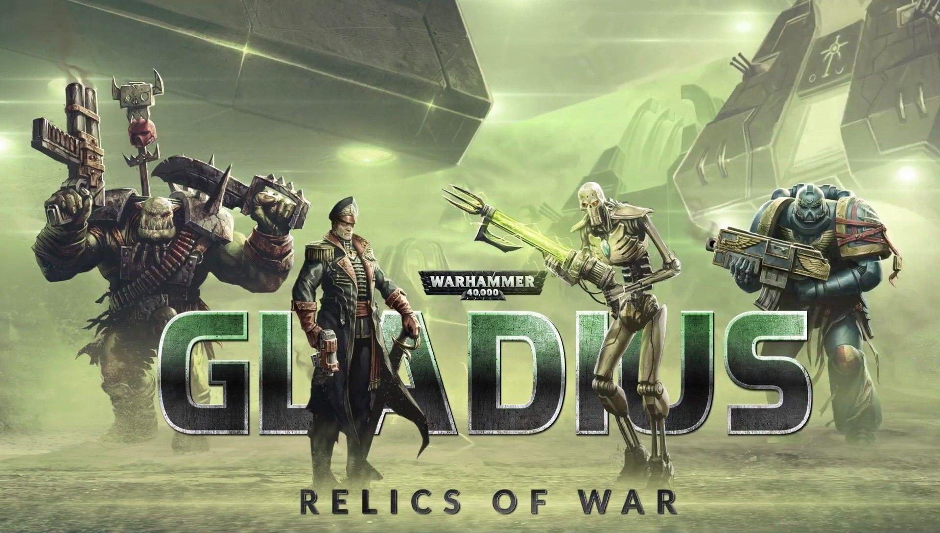 《戰鎚40K:角鬥士之戰爭聖器》公佈!星際戰士,獸人,帝國,亡靈大亂鬥 (策略 | War, Warhammer 40000, Space marine