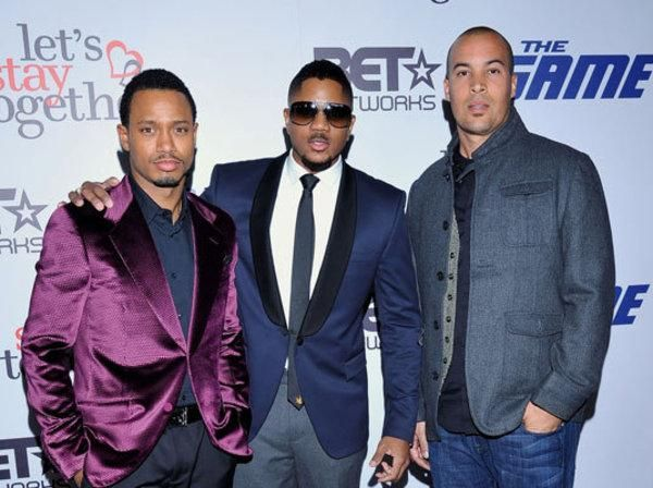 The men of The GameTerrance J, Hosea Chanchez, and