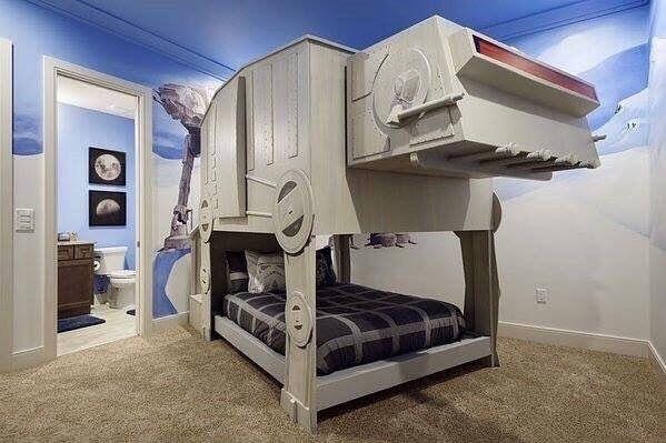Bed Goals Starwars Star Wars Bedroom Star Wars Themed Bedroom Cool Beds For Kids