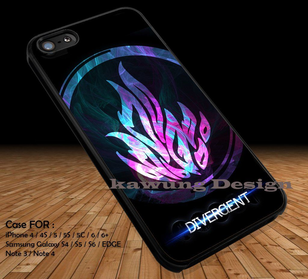 Fire Logo Divergent iPhone 6s 6 6s 5c 5s Cases Samsung Galaxy s5 s6