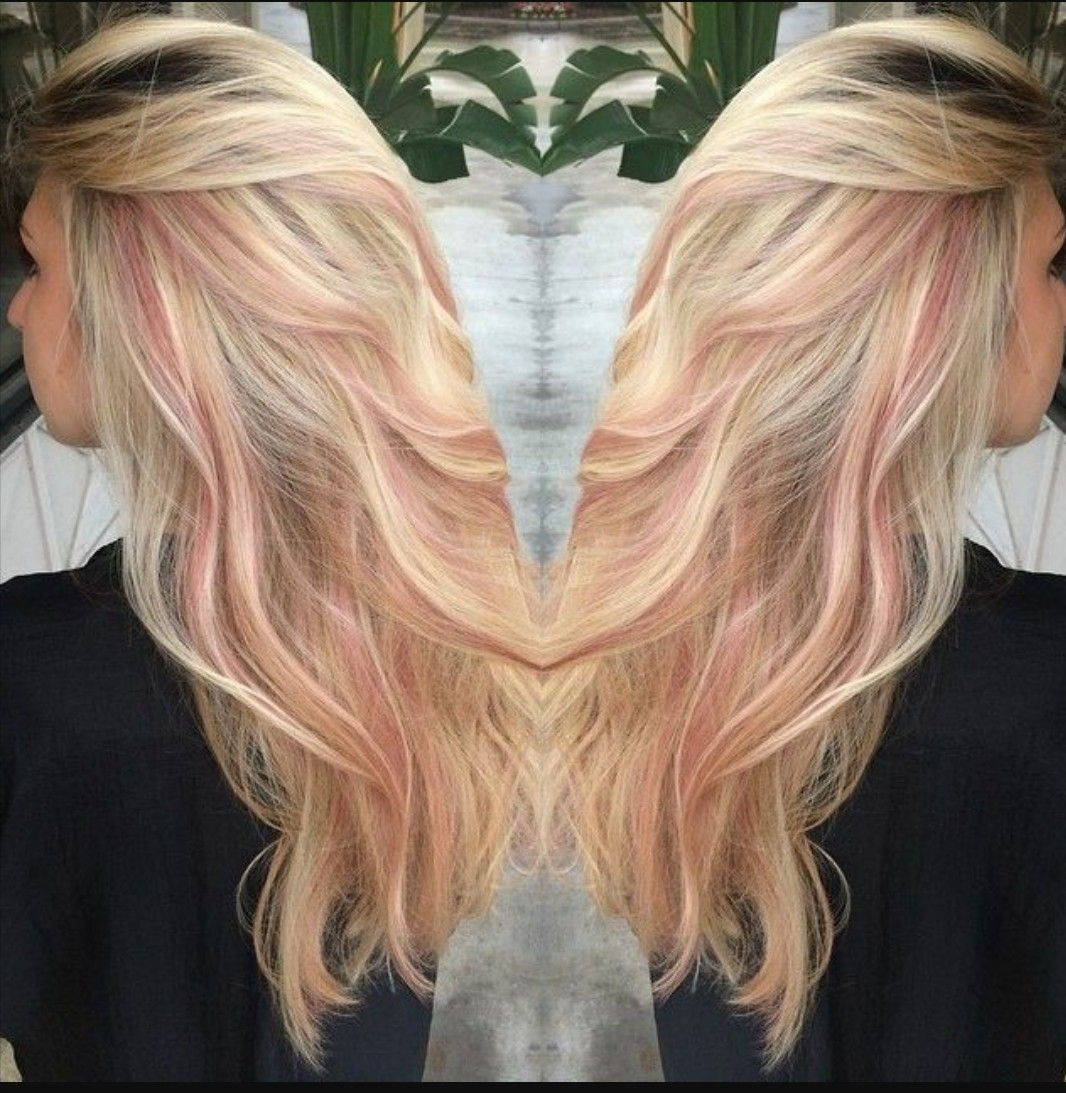 Pink Blonde Making Faces Pinterest Blondes Hair Coloring And