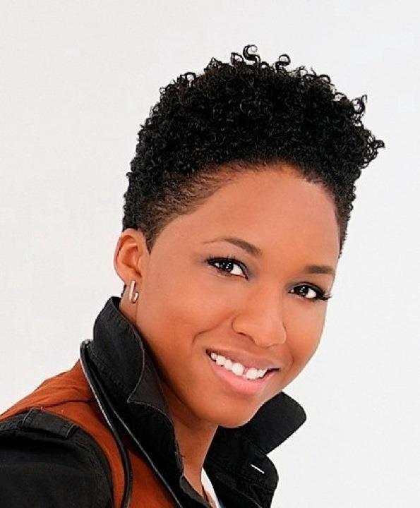 Short Natural Hairstyles For Black Women | Short natural ...
