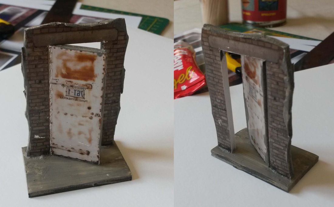 How To Make 3d Doors For Modern Zombicide Comes With Link