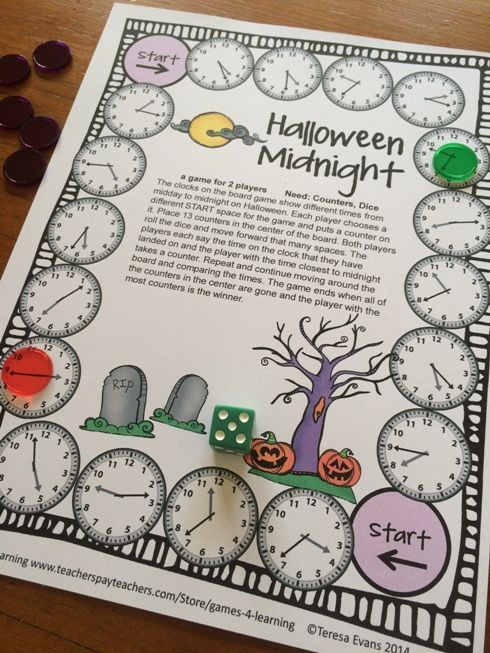 Halloween Math Games 4th Grade With Spiders Ghosts Bats