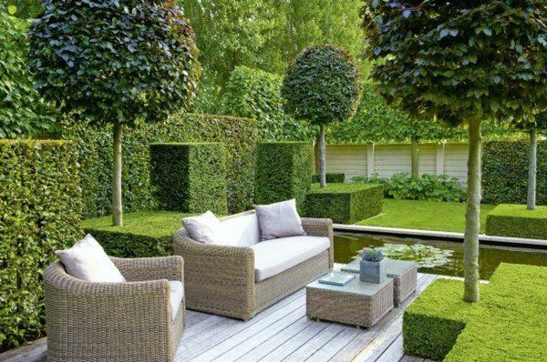 Aménagement jardin moderne – 55 designs ultra inspirants | Gardens