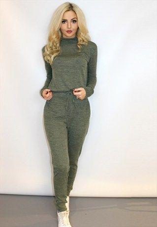 2399da0bced5 KHAKI LOUNGEWEAR SET Loungewear Outfits