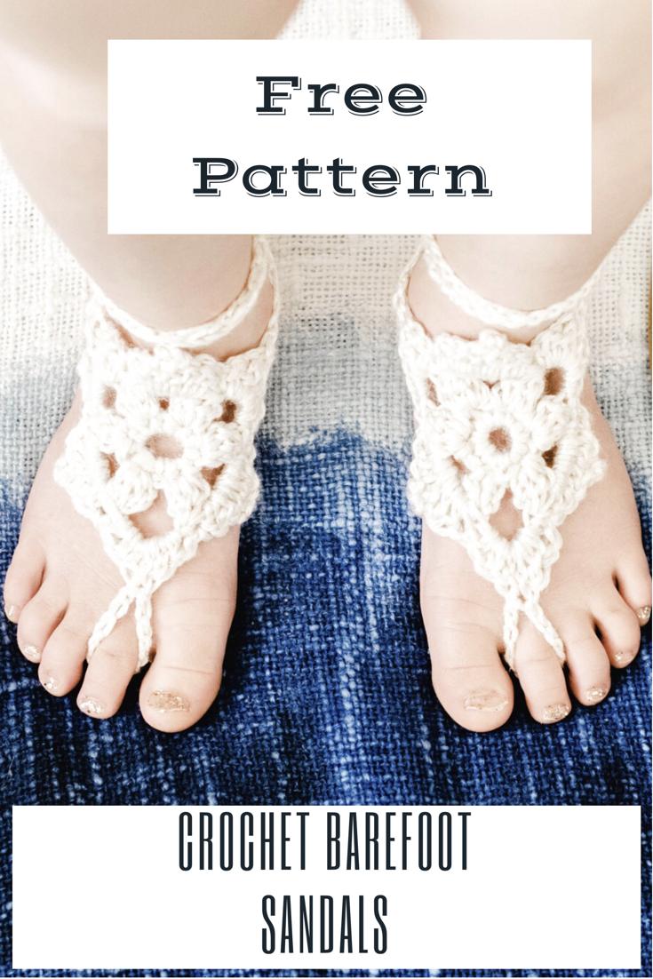 Boho Sandals Free Pattern Crochet Pattern Barefoot Sandals Sand Crochet Baby Sandals Pattern Crochet Baby Barefoot Sandals Barefoot Sandals Crochet Pattern