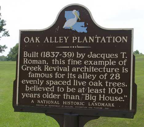 Oak Alley Plantation Floor Plan Photography Was Not Allowed Inside