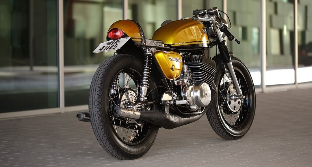 1969 Suzuki T500 Ii Titan Cafe Racer By Norwegian Bard Hansen Photo By Nicki Twang Motorcycles Caferacer Motos Cafe Racer Cafe Racer Seat Cafe Racer Build