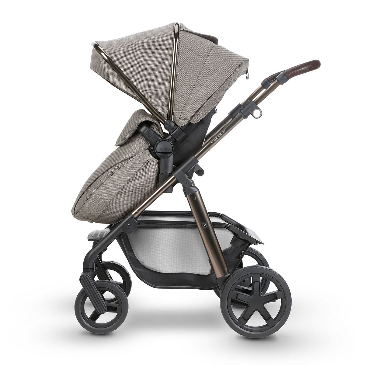 Pioneer Special Edition Expedition Silver cross prams