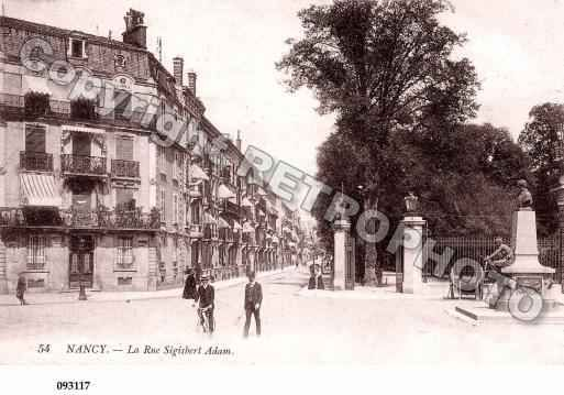 Ville de NANCY, carte postale ancienne | Carte postale, Cartes postales anciennes