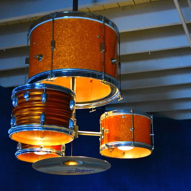 Drum Kit Light Fixture With Images