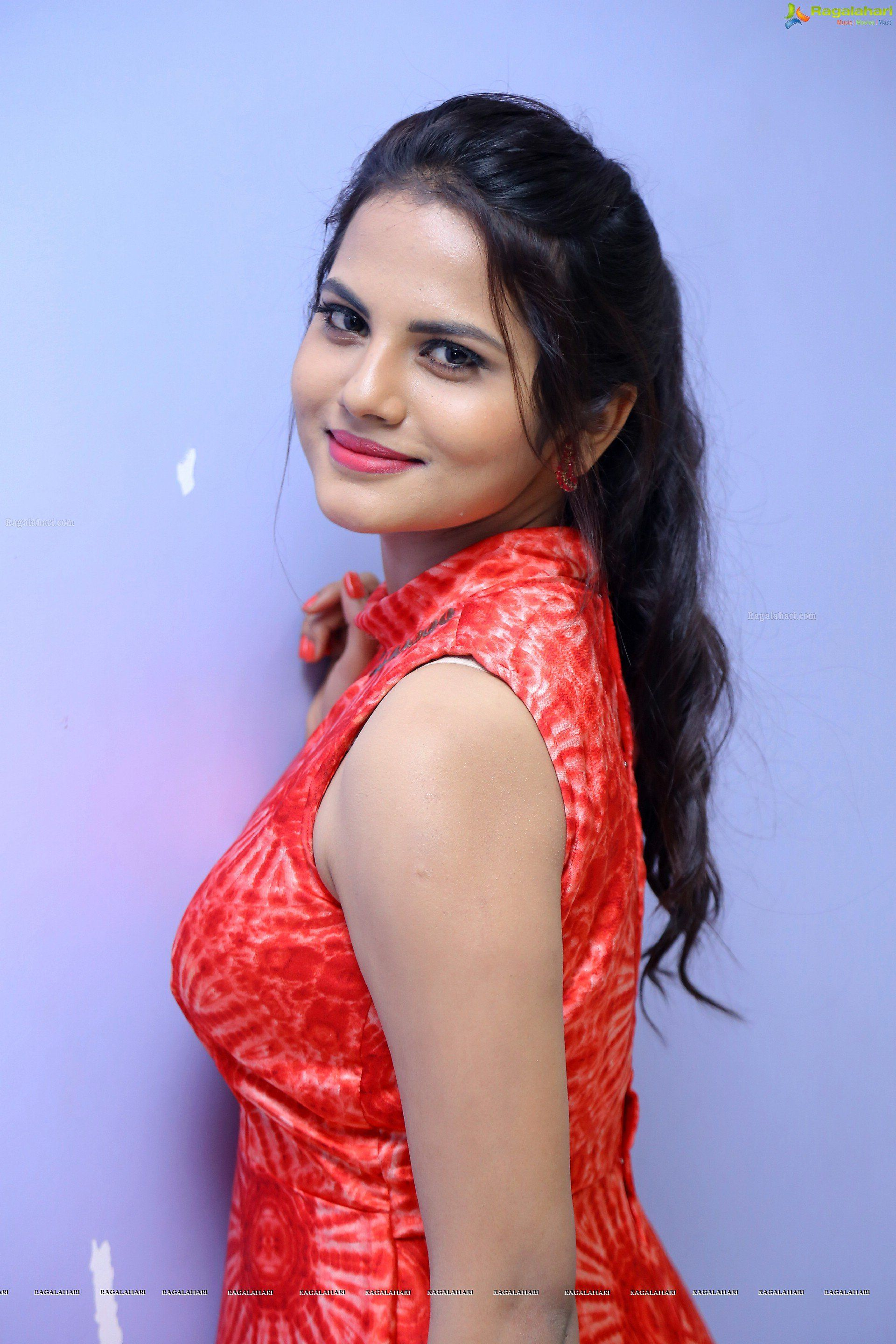 priyanka sharma at sarovaram audio release image 1 | telugu actress