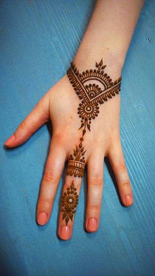 Hand Henna, Henna, Beginner