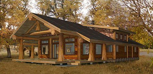 1500 3000 Sqft Log Home And Log Cabin Floor Plans Pioneer Log Homes Of Bc Log Cabin Plans Log Home Plans Log Cabin Floor Plans