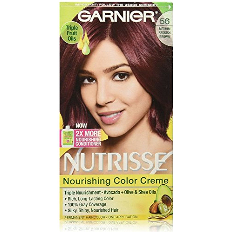 Garnier Nutrisse Nourishing Color Creme Medium Reddish Brown