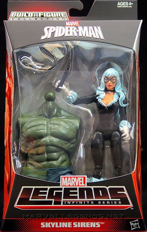 "Marvel Legends Infinite Ultimate Goblin Series Black Cat 6/"" action figure MISP"