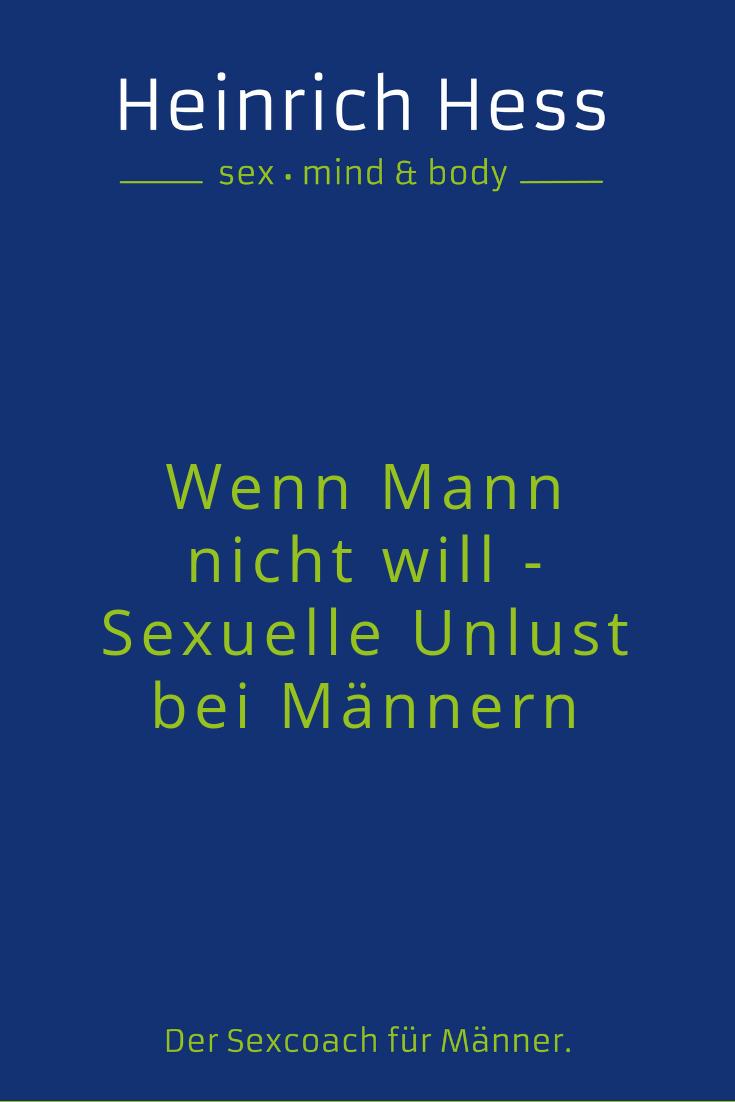 Sex maschine mann