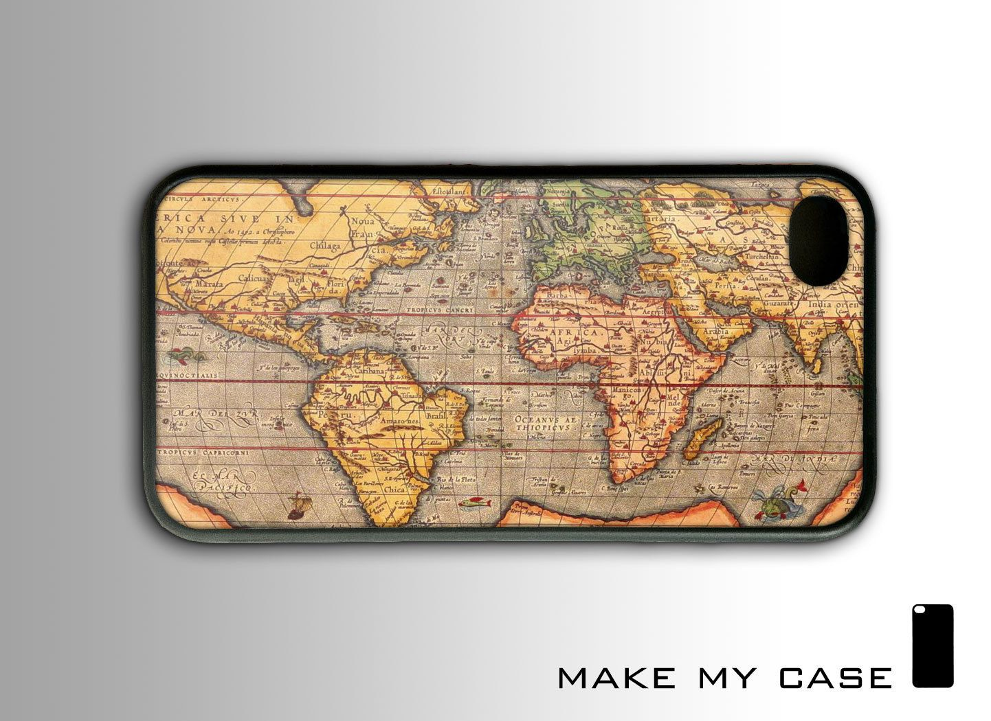 Vintage old world map iphone 4s case 1699 via etsy i want vintage old world map iphone 4s case 1699 via etsy i want gumiabroncs Images