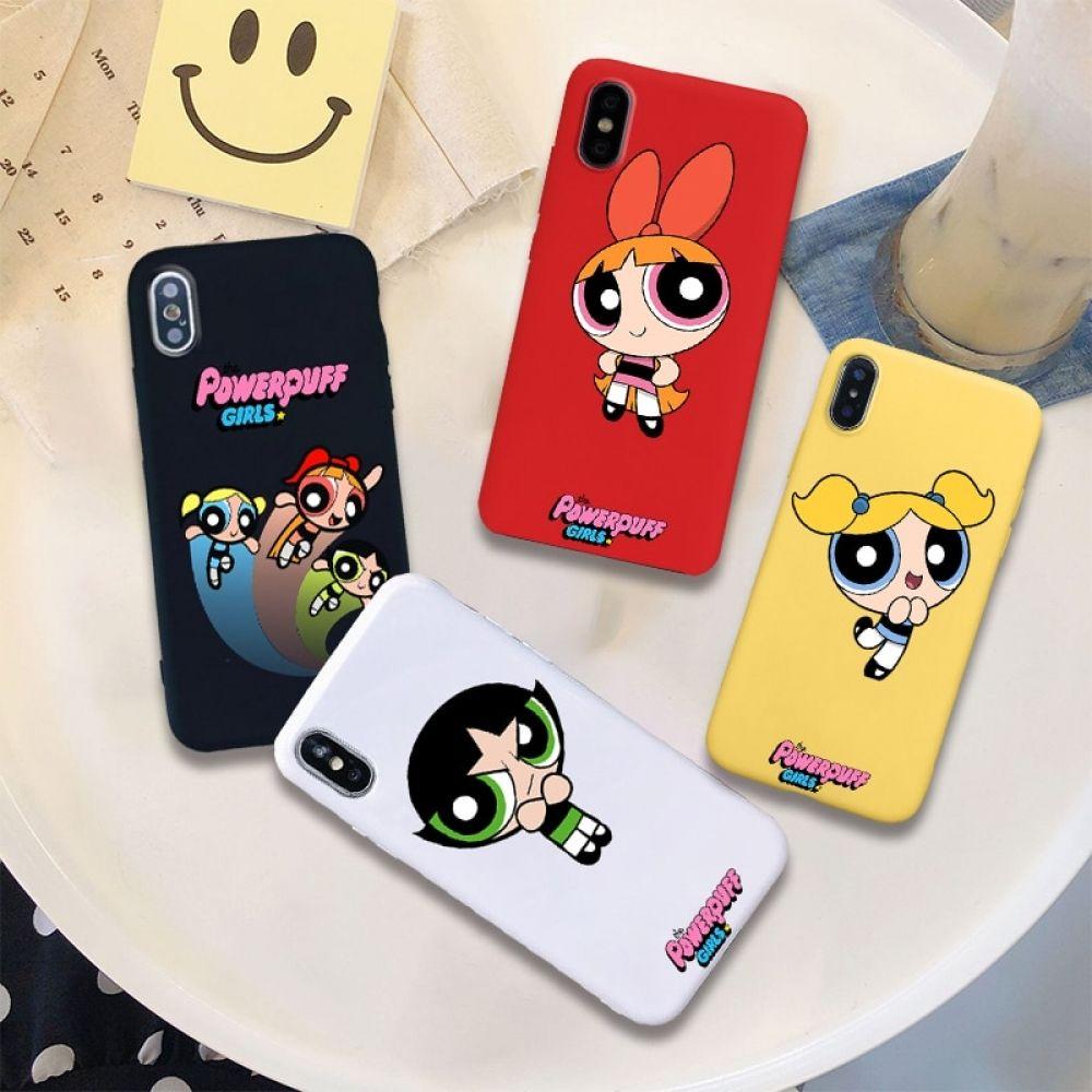 Funda para teléfono móvil powerpuff girls de silicona suave | Fundas para  teléfono, Fundas, Fundas para ipod