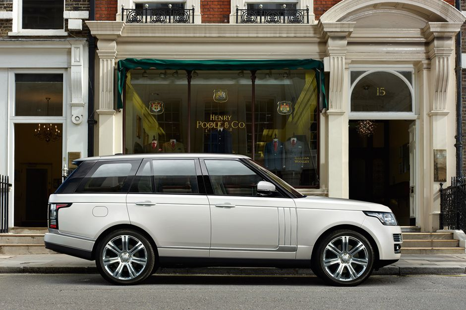 Range Rover Long Wheelbase >> Land Rover Announces Long Wheelbase Range Rover The New