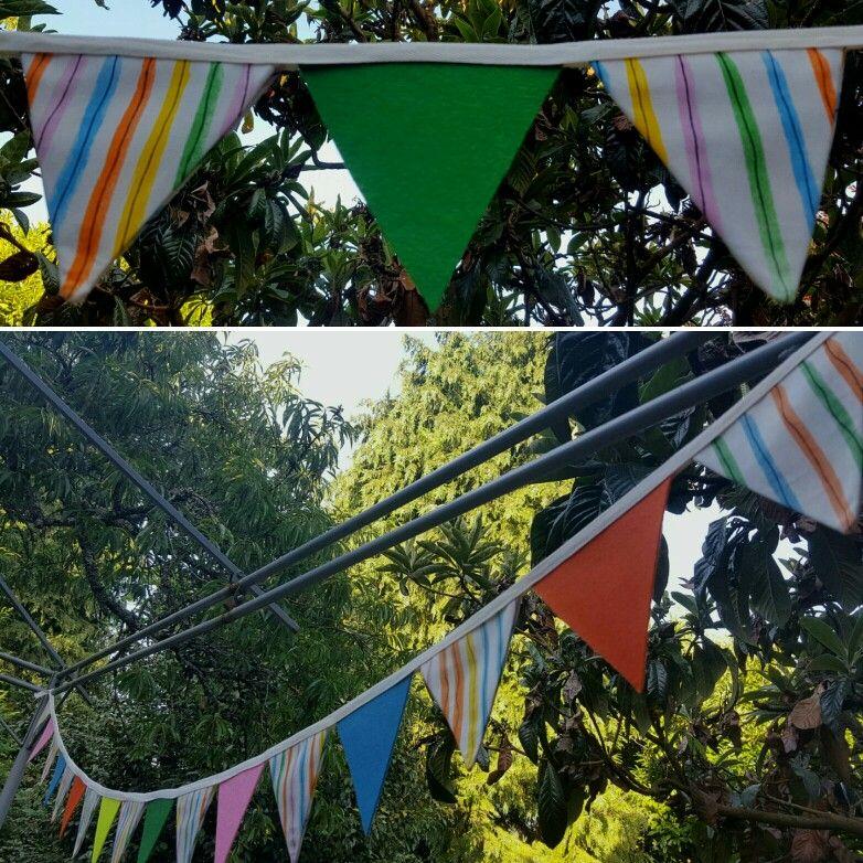 bandeirinhas coloridas