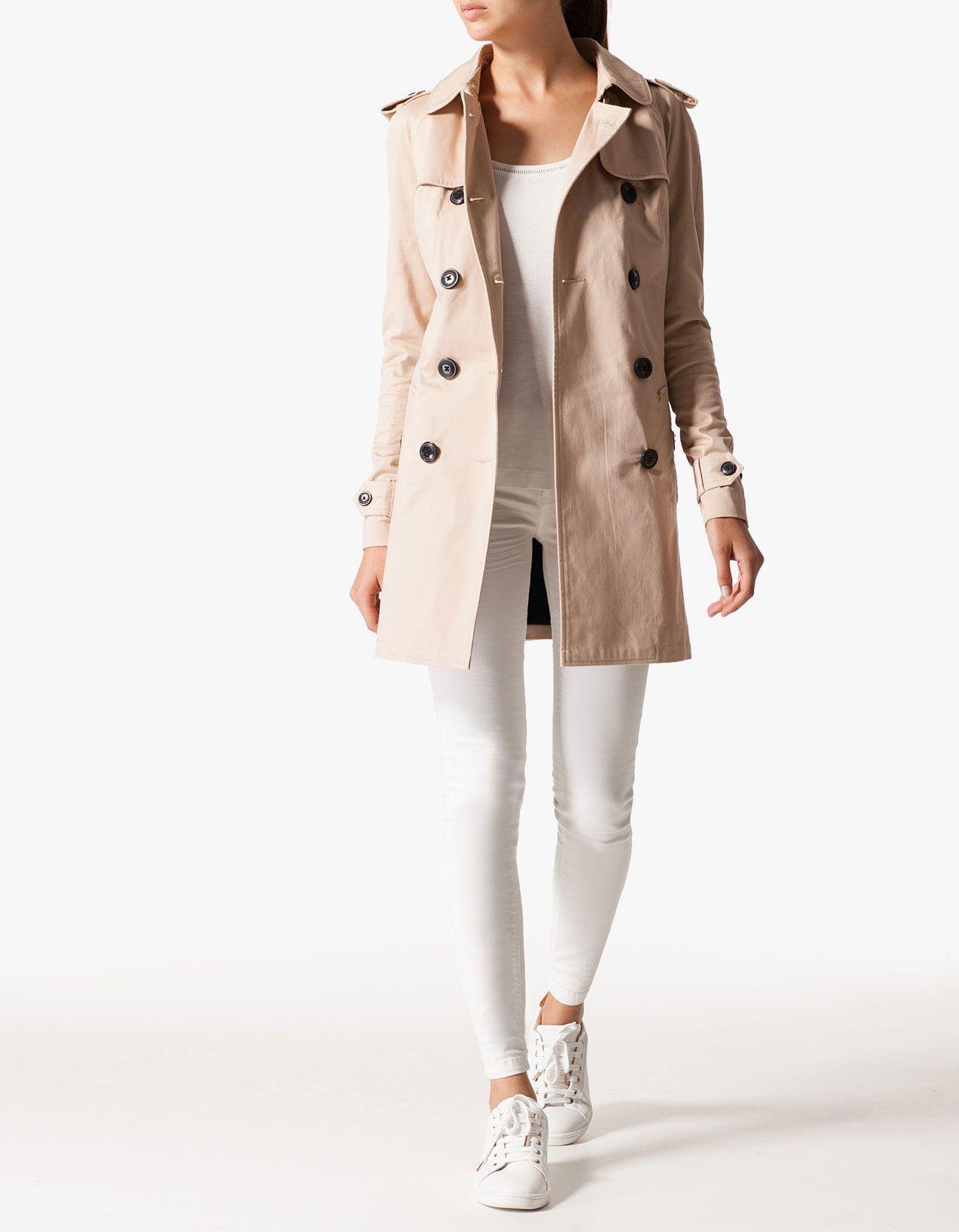 4acaa3fc69 Stradivarius Μακριά καμπαρντίνα | Just fashion......... | Zara ...