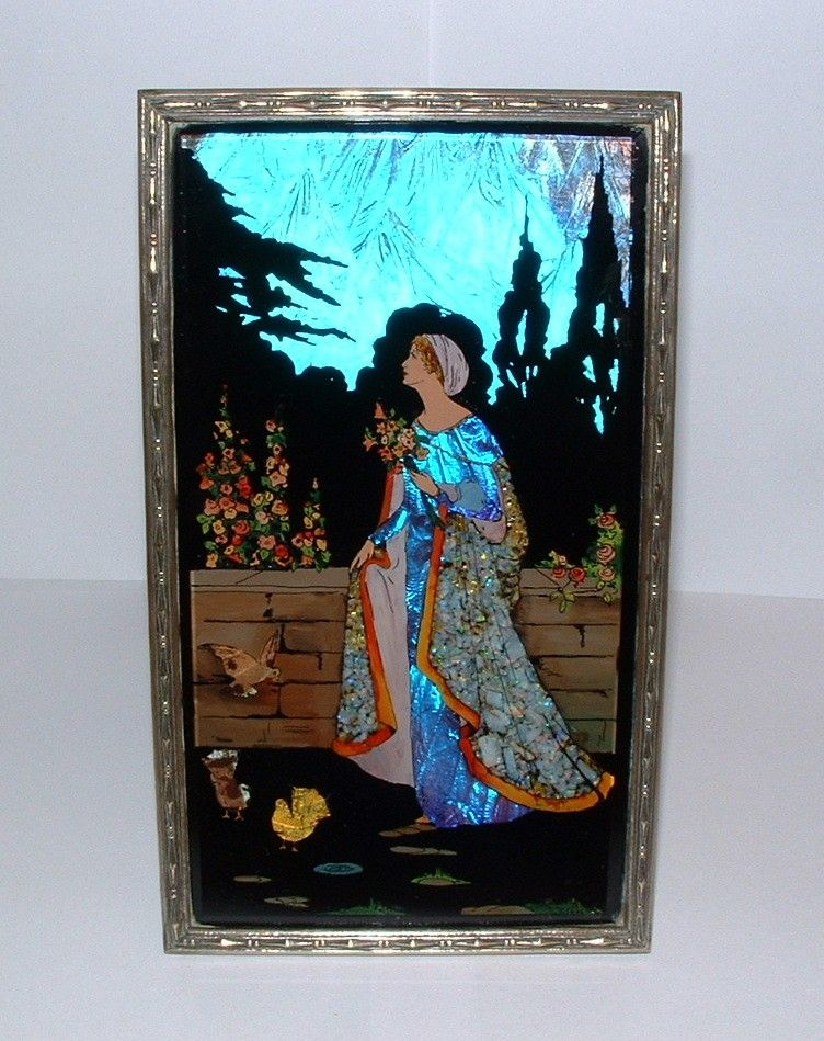 Art Deco Morpho Butterfly 1920s Paintings