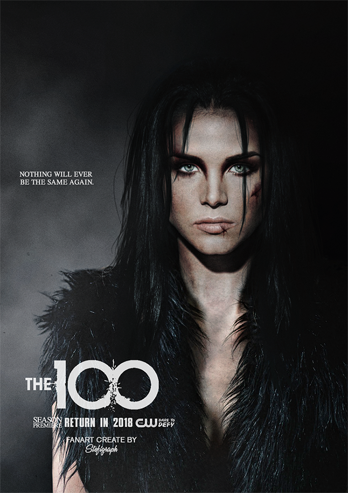 The 100 The 100 Poster Marie Avgeropoulos The 100